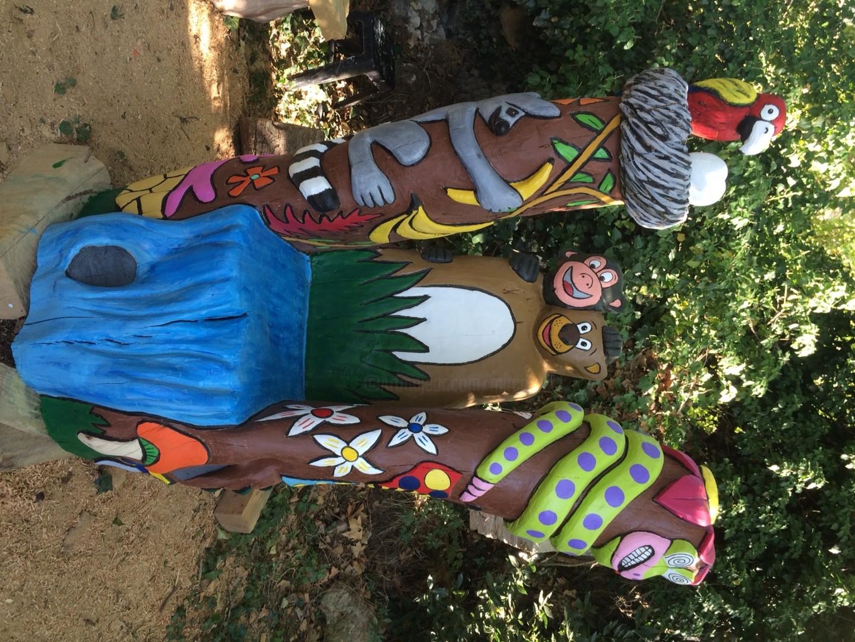 Mirèo - Le fauteuil de la jungle à LA FERME AUX CROCODILES